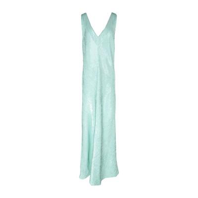 ブルマリン BLUMARINE ロングワンピース&ドレス ライトグリーン 40 ポリエステル 100% / ポリ塩化ビニル ロングワンピース&ドレス
