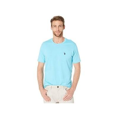 U.S. POLO ASSN. Crew Neck Small Pony T-Shirt メンズ シャツ トップス Horizon Blue