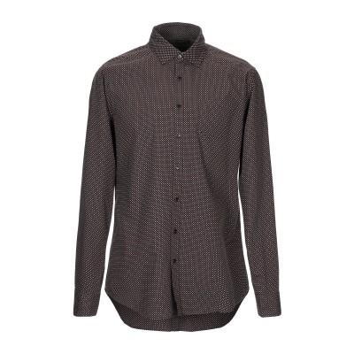 メッサジェリエ MESSAGERIE シャツ ブラック 41 コットン 100% シャツ