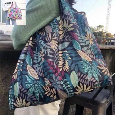 マイバッグ お買い物袋 お買い物バッグ エコバッグ プリントバッグ 柄バッグ トートバック 携帯バッグ ショルダーバッグ 肩がけ 肩掛け 大きめ 買い物 レジ袋代