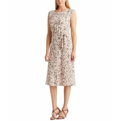 ラルフローレン ワンピース トップス レディース Floral Georgette Dress Pink Multi
