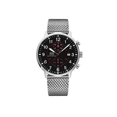 88 Rue du Rhone Swiss Quartz Newold Collection Men's Watch 87WA184119 Black Dial 並行輸入品