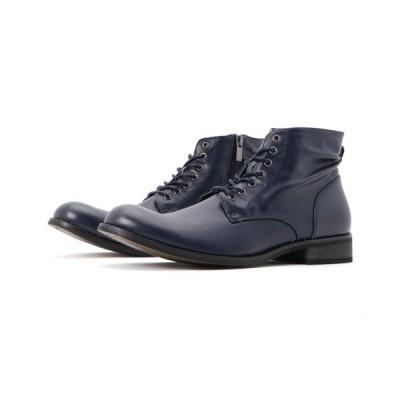 ブーツ DEDES PUレザーレースアップショートブーツ / 5119【*】