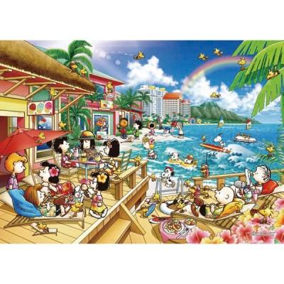 ジグソーパズル ピーナッツ ビーチリゾート 2000スーパースモールピース (54-218S)[エポック]《発売済・在庫品》