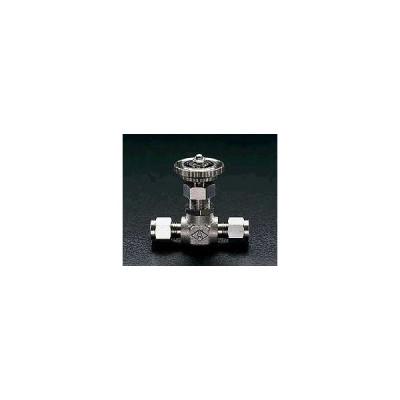 エスコ ESCO 6mmx 6mm ミニチュアバルブ(ステンレス製) EA425CB-6