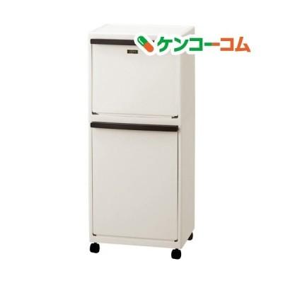 イーラボホーム 多段分別 40L ベージュ EL-3521 ( 1コ入 )/ 天馬 ( ゴミ箱 )