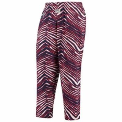 Zubaz ズバズ スポーツ用品  Zubaz New York Giants Royal/Red Throwback Zebra Pants