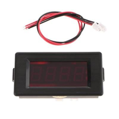 電子タイマー カウントダウン 時間計 クロノメーター パネル 取り付け 1.8インチ - GDD7939.9SIW-RED
