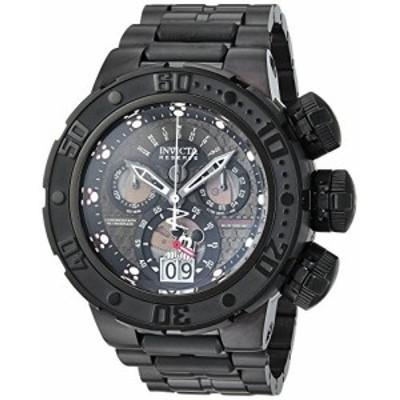 Invicta Men s  Disney Limited Edition  QuartzステンレススチールCasual Watch , Color : Black ( Model : 24690)