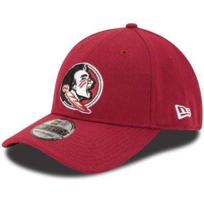 ユニセックス スポーツリーグ アメリカ大学スポーツ Florida State Seminoles New Era Team Logo College Classic 39THIRTY Flex Hat -