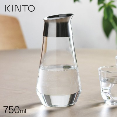 KINTO キントー LUCE ウォーターカラフェ 750ml 324448(KINTO カラフェ ウォーターカラフェ キントー 冷水筒) 即納