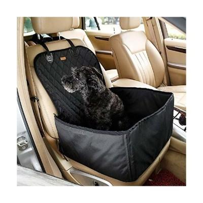 PETEMOO 車用ペットシート/中小型犬用/助手席用/ドライブシート 窓 折りたたみ カーシート シートカバー  ペッ