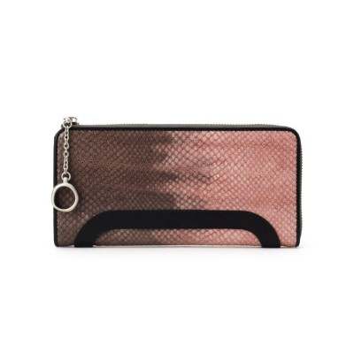 HIROKO HAYASHI(ヒロコ ハヤシ) MALVA(マルバ)ファスナー式長財布