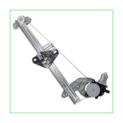 Brock Replacement Passengers Front Power Window Lift Regulator with Motor Assembly Compatible with 09-13 Fit 72210-TF0-G01