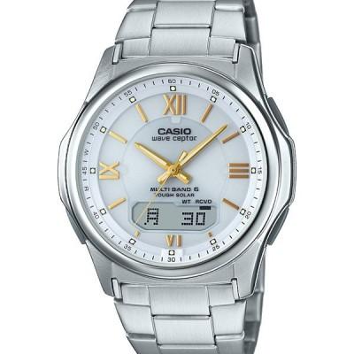 WVA-M630D-7A2JF WAVE CEPTOR ウェーブセプター CASIO カシオ ソーラー電波時計 ホワイト メンズ 腕時計 国内正規品 送料無料 プレゼント