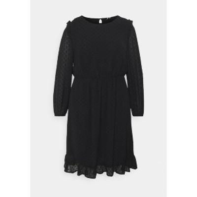 オンリー カルマコマ レディース ワンピース トップス CARMALONE DRESS - Day dress - black black