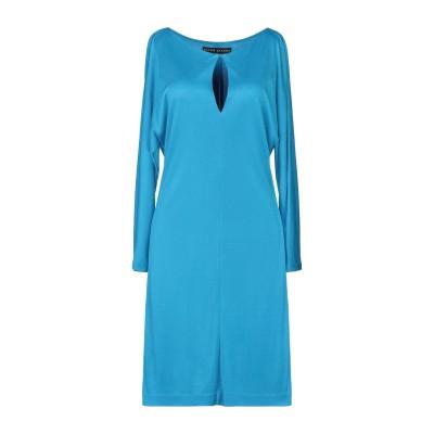 RALPH LAUREN BLACK LABEL ミニワンピース&ドレス ターコイズブルー 6 レーヨン 100% ミニワンピース&ドレス