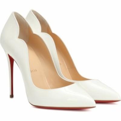 クリスチャン ルブタン Christian Louboutin レディース パンプス シューズ・靴 Hot Chick 100 patent leather pumps snow