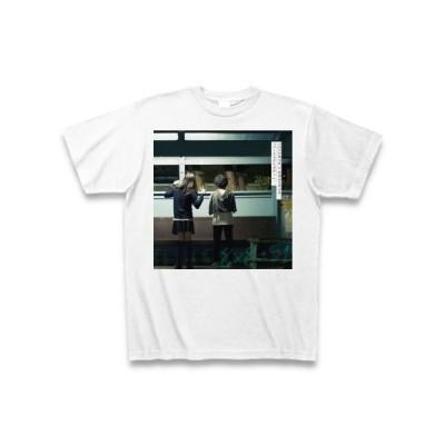 パーフェクトブルーTシャツ(白)