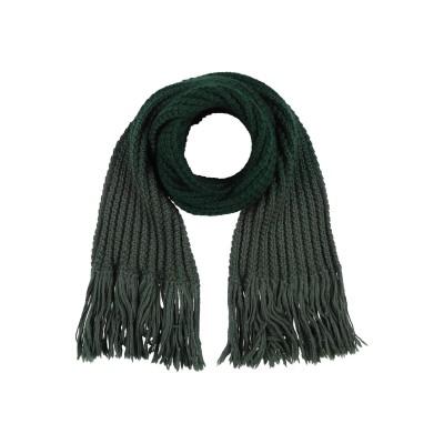 THE NORTH CIRCULAR マフラー グリーン 紡績繊維 マフラー