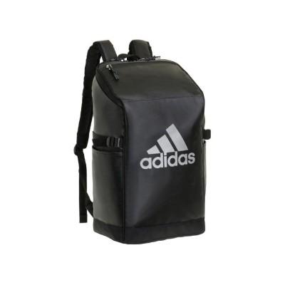 【カバンのセレクション】 アディダス リュック リュックサック 27L スクエア ボックス型 防水 通学 メンズ レディース adidas 62784 ユニセックス ブラック系1 フリー Bag&Luggage SELECTION