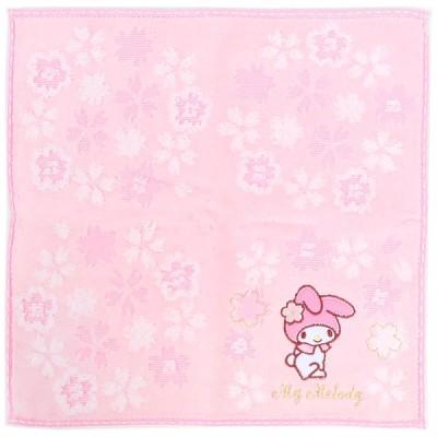 マイメロディ プチタオル ミニタオル タオルハンカチ☆サンリオ 桜モチーフシリーズ