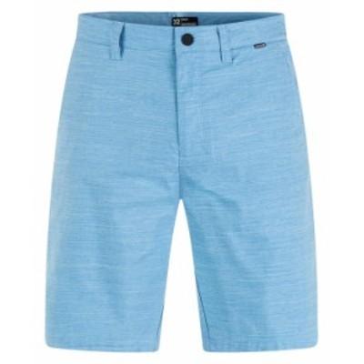 ハーレー メンズ ハーフパンツ・ショーツ ボトムス Men's Dri Breathe 21 Shorts Open Blue