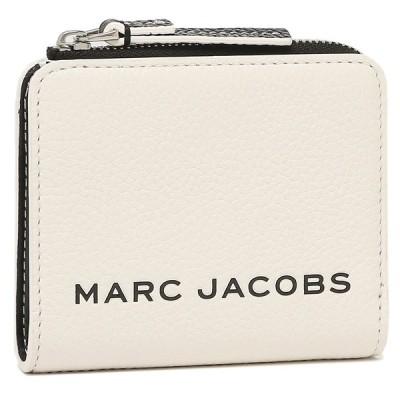 マークジェイコブス 二つ折り財布 ザ ボールド ミニ財布 ホワイト レディース MARC JACOBS M0017061 164