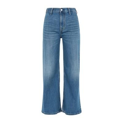 YOOX - CALVIN KLEIN JEANS ジーンズ ブルー 29 コットン 99% / ポリウレタン 1% ジーンズ
