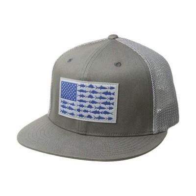 コロンビア Columbia レディース キャップ 帽子 PFG Mesh Flat Brim Ballcap Titanium/Fish Flag