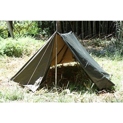 テント Army Military Tent Shelter Half Wpoles and Stakes