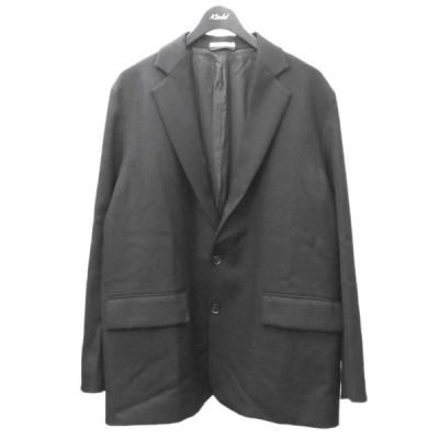 AURALEE 2019AW 「WOOL SERGE JACKET」テーラードジャケット ブラック サイズ:4 (渋谷店) 201211