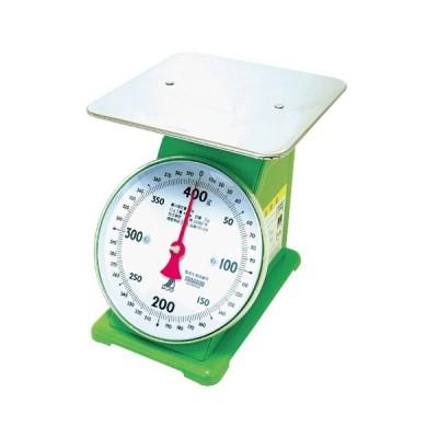 シンワ 上皿自動はかり 400g 取引証明用 70124 本体サイズ240x190x210mm 製品重量1800g 検定証印付 頑強設計 ばね式指示はかり 基準適合証印付 精度等級 4級