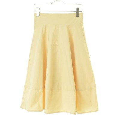 KOBE LETTUCE / 神戸レタス 裾切り替えマットサテンバックウエストゴムハイウエスト スカート