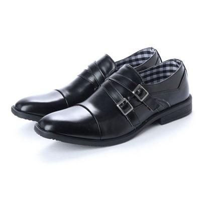 ビジネスシューズ ドレスシューズ ラウンドトゥ ロングノーズ ラウンドトゥ チェック 靴 シューズ メンズ