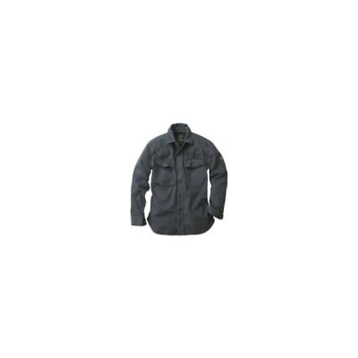 イーブンリバー/フィッシャーストライプシャツ/18アーミーグレー/LL/US-1106