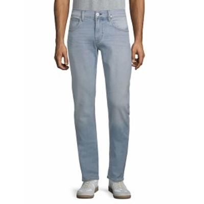 ハドソン メンズ パンツ デニム ジーンズ Slim Straight-Leg Jeans