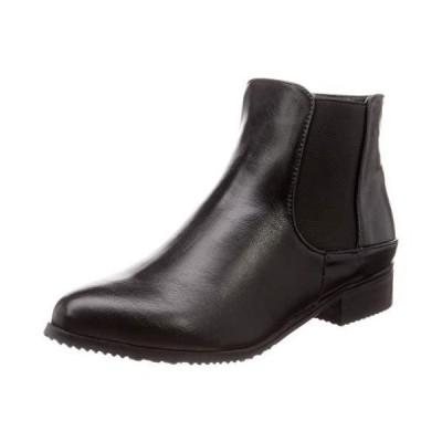 [バイアシナガオジサン] ブーツ 8710231 レディース ブラック 23.0~23.5 cm