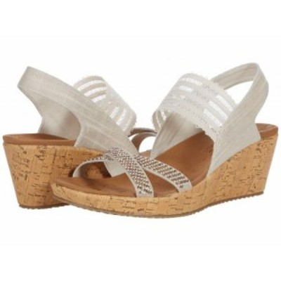 SKECHERS スケッチャーズ レディース 女性用 シューズ 靴 ヒール Beverlee Fancy Sips Natural【送料無料】