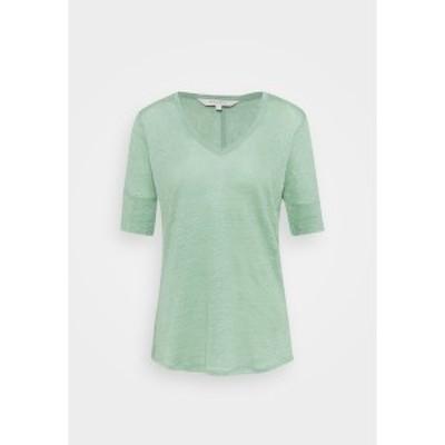 パートトゥー レディース Tシャツ トップス CURLY - Basic T-shirt - granite green granite green