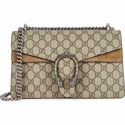 グッチ Gucci レディース ショルダーバッグ バッグ Dionysus Gg Supreme Small Shoulder Bag Natural