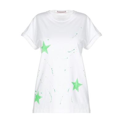 FOUDESIR T シャツ ホワイト S コットン 100% T シャツ