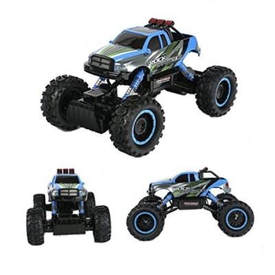 電子おもちゃ TTLIFE Rock Crawler RC Car - 4x4 Remote Control Car - 114 Rock Master Rock Crawler with 2.4Ghz Controller(blue)