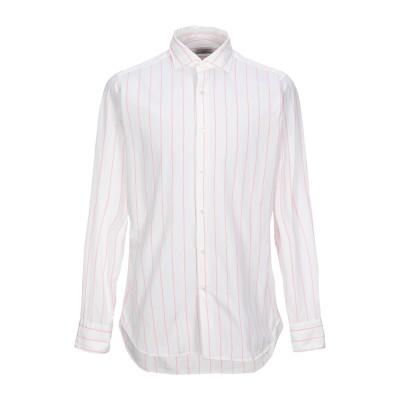 GUGLIELMINOTTI シャツ ピンク 39 コットン 100% シャツ