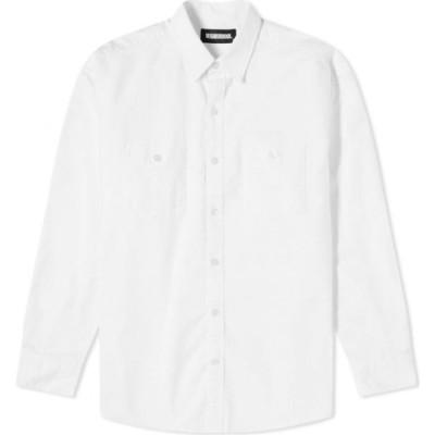 ネイバーフッド Neighborhood メンズ シャツ トップス classic ox shirts White
