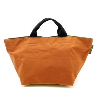 送料無料 エルベシャプリエ Herve Chapelier トートバッグ ハンドバッグ 鞄 手提げ 舟型 ナイロン 仏製 フランス製 橙系 レディース