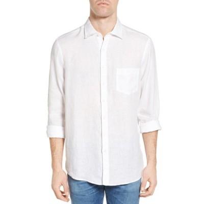 ロッドアンドガン メンズ シャツ トップス Hamlet Long Sleeve Pocket Shirt SNOW