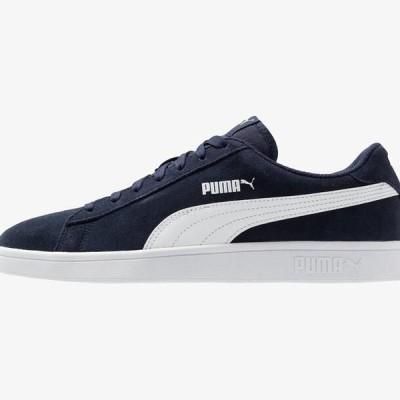 プーマ メンズ 靴 シューズ SMASH V2 - Trainers - peacoat/white