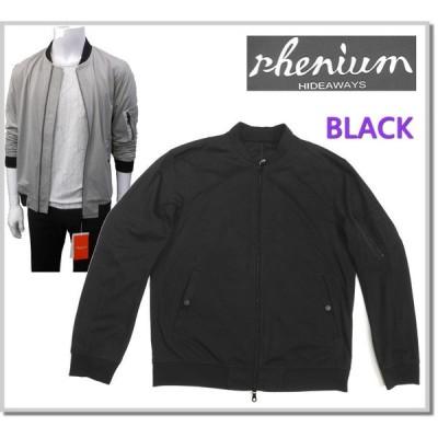 レニウム rhenium HIDEAWAYS モクロディMA-1ブルゾン 0465-3702-49(BLACK) ジャンバー