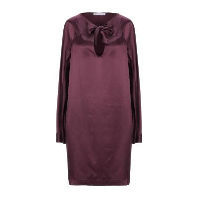 ロートレ ショーズ L' AUTRE CHOSE ミニワンピース&ドレス ディープパープル 40 シルク 100% ミニワンピース&ドレス